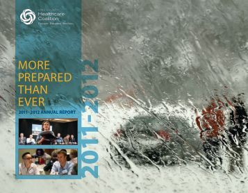 2011-2012 Healthcare Coalition Annual Report