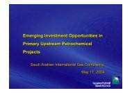Emerging Investment Opportunities in Primary Upstream ...