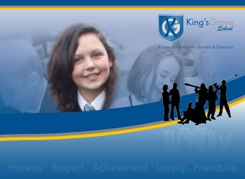 Prospectus - kings-grove.cheshire.sch.uk