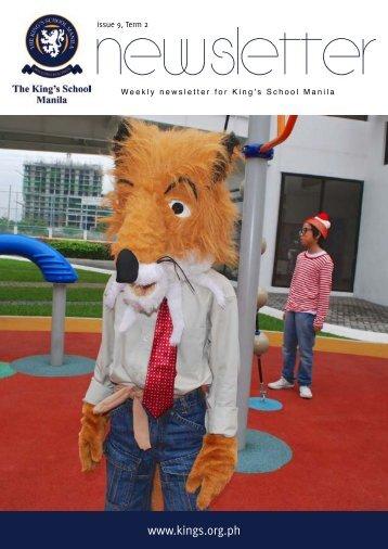 KSM Newsletter March 15th 2013 - The King's International School ...