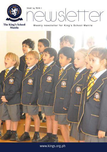KSM Newsletter December 14th 2012 - The King's International ...