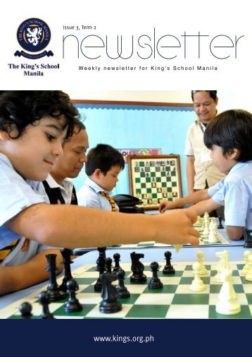 KSM Newsletter February 1st 2013 - The King's International School ...