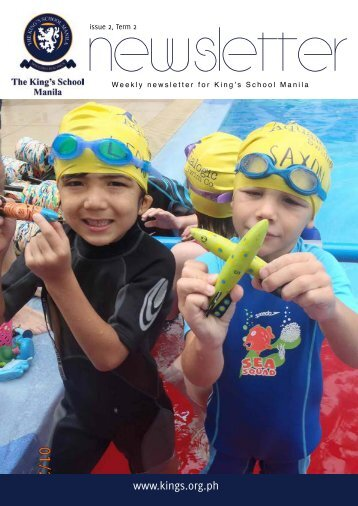 KSM Newsletter January 25th 2013 - The King's International School ...