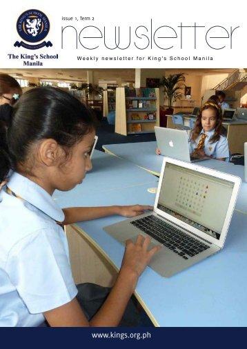 KSM Newsletter January 18th 2013 - The King's International School ...