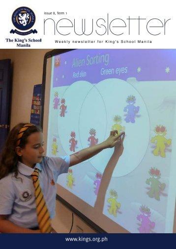 KSM Newsletter October 26th 2012 - The King's International School ...