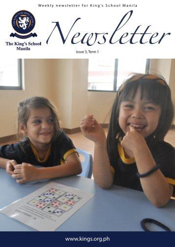 KSM Newsletter September 14th 2012 - The King's International ...