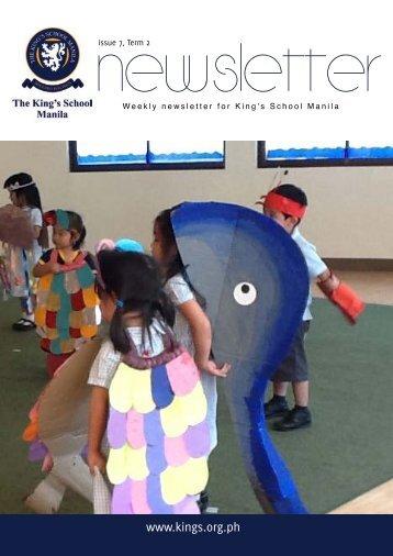 KSM Newsletter March 1st 2013 - The King's International School ...