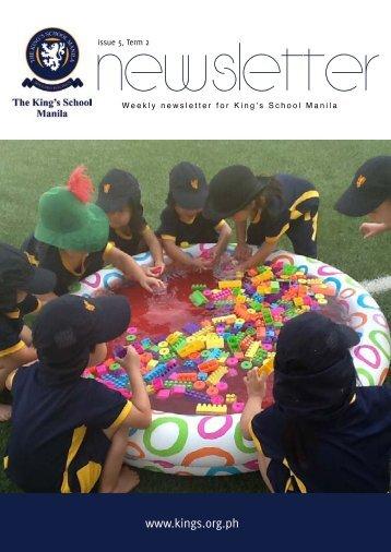 KSM Newsletter February 8th 2013 - The King's International School ...