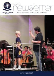KSM Newsletter November 9th 2012 - The King's International ...