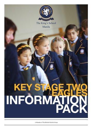 KS2 Eagles Cover - The King's International School Manila
