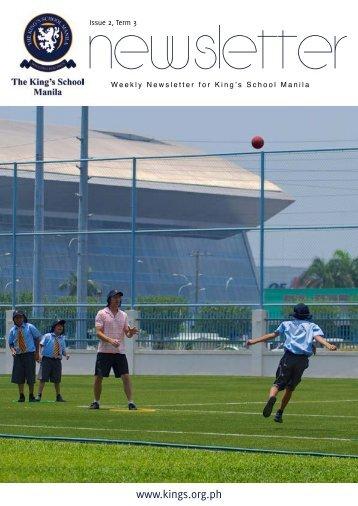 KSM Newsletter April 19th 2013 - The King's International School ...