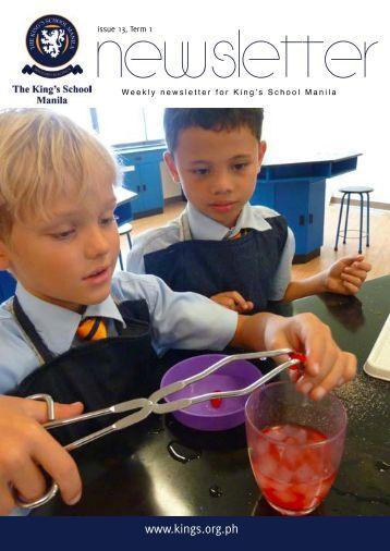 KSM Newsletter December 7th 2012 - The King's International ...