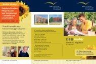 DSG mobil - Deutsche Seniorenstift Gesellschaft