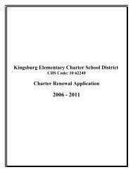 Kingsburg Elementary Charter School District