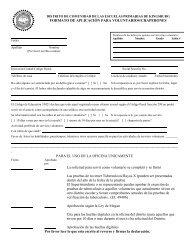 volunteer form SP