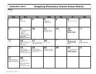 9 Odd - Kingsburg Elementary Charter School District