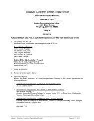 minutes - feb 19 2013 - Kingsburg Elementary Charter School District