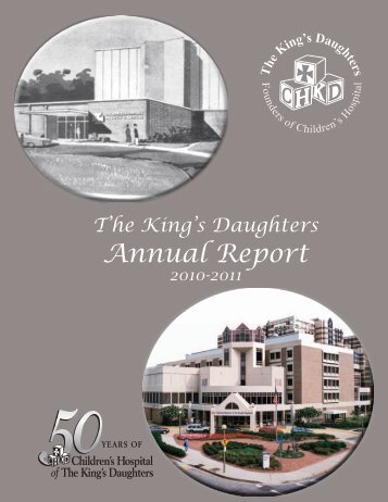 Download 2010-2011 Annual Report - The King's Daughters