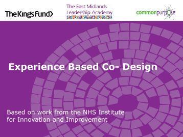 Experience-based co-design slides for EMLA