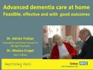 Advanced dementia care at home - presentation by Adrian Treloar ...
