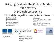 Adam Pollard and Brett Duane: bringing cost into the Carbon Model ...