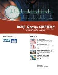 Kingsley Associates - BKR: Healthcare Real Estate