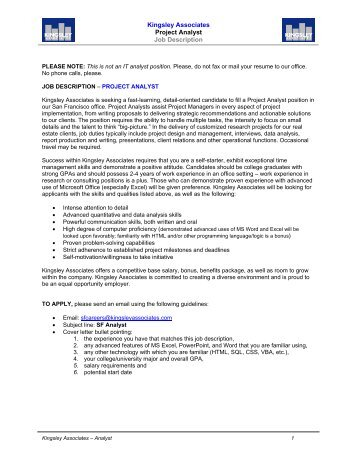 Job Description Financial Reporting Analyst (ref 460. Network Proposal Example. Letterheads Designs Free Download Template. Project Plan And Timeline Template. Job Description For Resumes Template. Sale Associate Job Duties Template. Home Schooling Study Record Template. Pr Resume Examples. Template For A Thank You Card Template