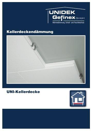 Kellerdeckendämmung UNI-Kellerdecke - Kingspan Unidek