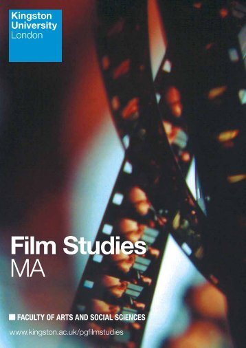 Film Studies MA - Kingston University