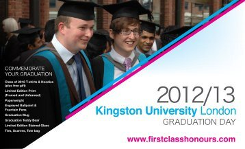 order form - Kingston University
