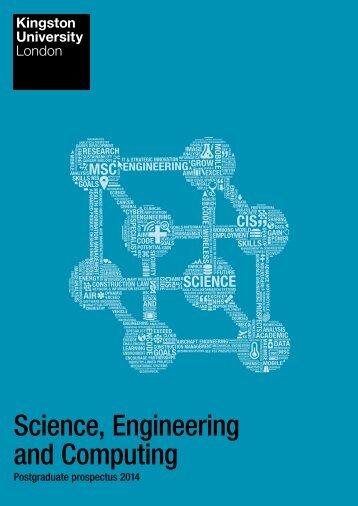 Science, Engineering and Computing - Kingston University