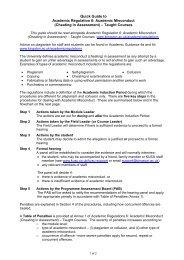 Academic Misconduct - Kingston University