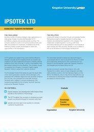 IPSOTEK LTD - Kingston University