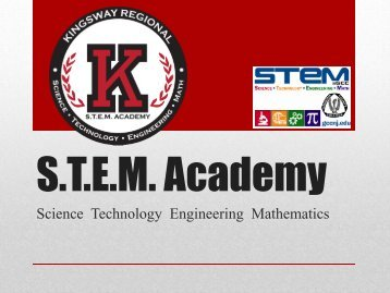 STEM Program - Kingsway Regional School District