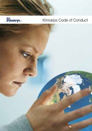 Download the complete Kinnarps Code of Conduct here (pdf)