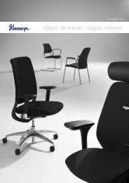 sièges de travail / sièges visiteurs - Kinnarps