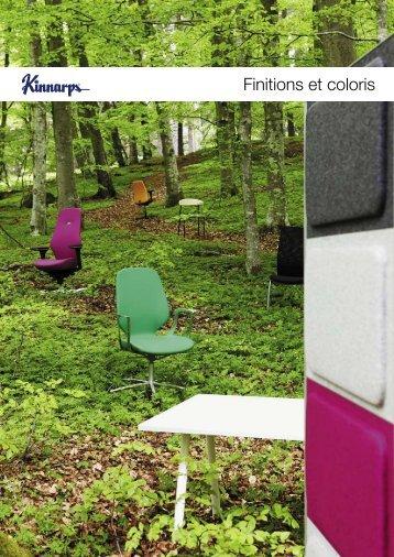 Finitions et coloris - Kinnarps