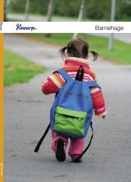 Barnehage katalog - Kinnarps