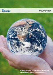 Miljøveiviser - Kinnarps
