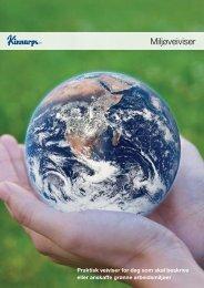 Her kan du laste ned Miljøveiviseren (PDF) - Kinnarps