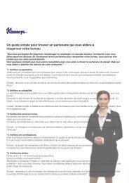 Télécharger le guide pour réussir son projet de - Kinnarps
