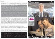 25. Februar - 03. März 2010 P R O G R A M M - Central-Kino