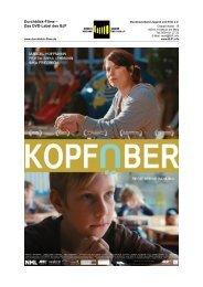 """Kopfüber"" vom Bundesverband Jugend und Film e.V. ... - Kino ab 10"