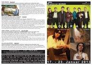 17. - 23. Januar 2013 P R O G R A M M - Central-Kino