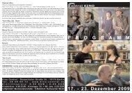 17. - 23. Dezember 2009 P R O G R A M M - Central-Kino