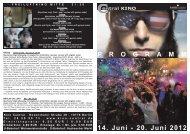 14. Juni - 20. Juni 2012 P R O G R A M M - Central-Kino