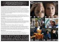 08. Juli - 14. Juli 2010 P R O G R A M M - Central-Kino