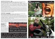 13. - 19. Juni 2013 P R O G R A M M - Central-Kino