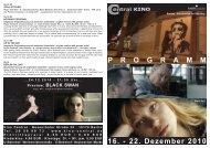 16. - 22. Dezember 2010 P R O G R A M M - Central-Kino