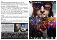 17. Mai - 23. Mai 2012 P R O G R A M M - Central-Kino